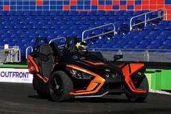 Scott Speed driving the Polaris Slingshot SLR