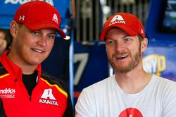 Dale Earnhardt Jr., Hendrick Motorsports Chevrolet ve Jacob Engle