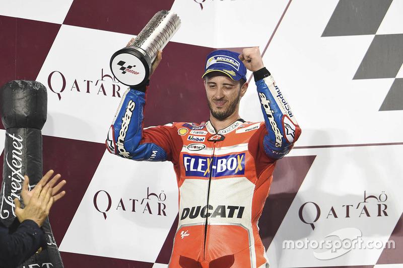 Dovizioso, un fijo en el podio de Qatar