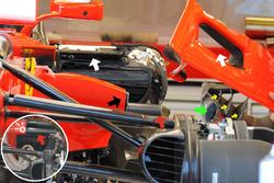 Ponton de la Ferrari SF70H