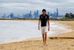 Esteban Ocon, Sahara Force India F1 Team on Brighton Beach