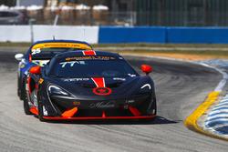 #77 Compass360 Racing McLaren GT4: Matthew Keegan, Nico Rondet