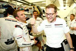 Timo Bernhard, Porsche Team, Andreas Seidl, Team Principal Porsche Team
