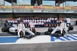 Felipe Massa, Williams; Paul di Resta, Williams, Ersatzfahrer; Valtteri Bottas, Williams