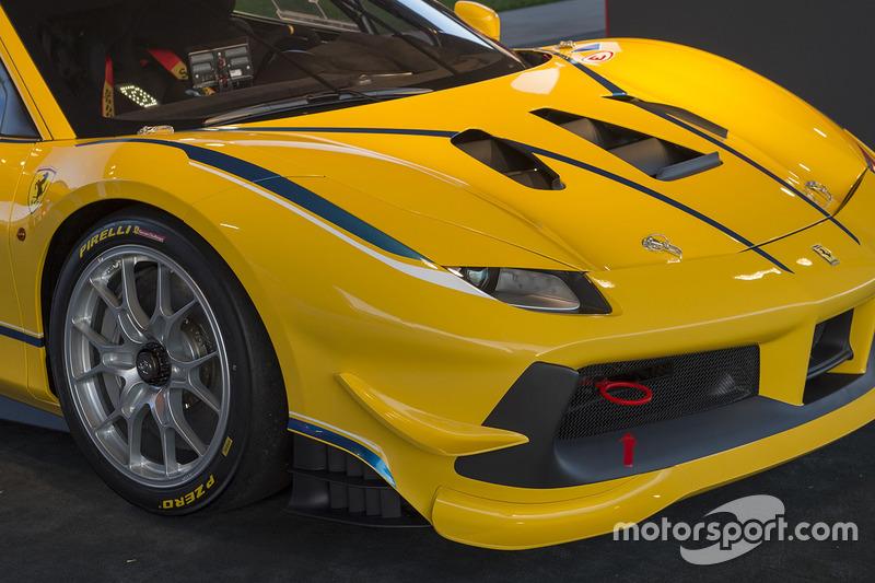 La Ferrari 488 Challenge
