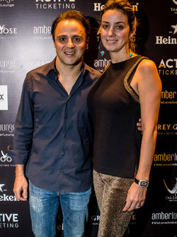 Felipe Massa, Williams F1 Team et sa femme Anna Raffaela Bassi