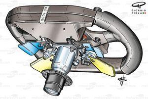 Renault R24 steering wheel