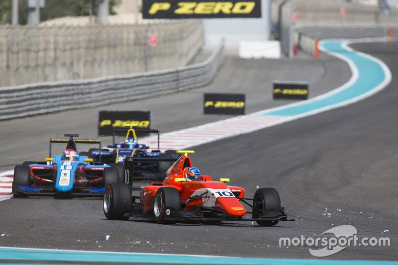 Tatiana Calderon, Arden International y Akash Nandy, Jenzer Motorsport