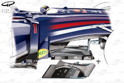 T-tray de la Red Bull RB9