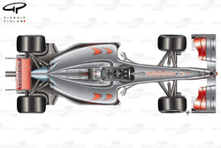 McLaren MP4-24 2009 top view