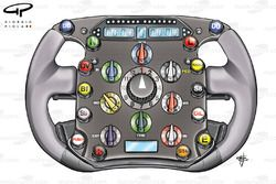 Ferrari F2008 (659) 2008 steering wheel