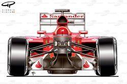 Amortisseurs de suspension de la Ferrari F138