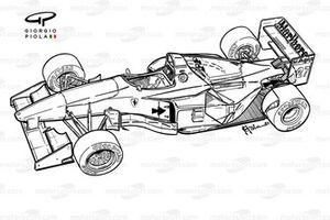 Ferrari 412T1 (646) 1994 overview