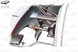 McLaren MP4-19B 2004 twin keel front suspension