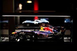 Mark Webber'in Red Bull'unun modeli