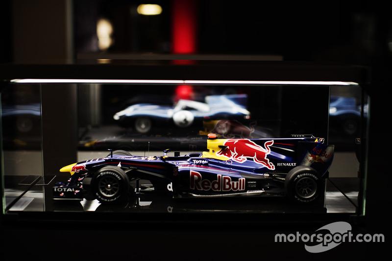 Moddelo del Red Bull de Mark Webber
