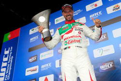 Podium : Tiago Monteiro, Honda Racing Team JAS, Honda Civic WTCC