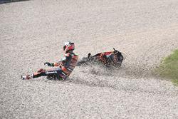Danny Kent, Red Bull KTM Ajo crash