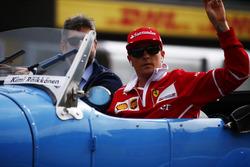 Fahrerparade: Kimi Raikkonen, Ferrari