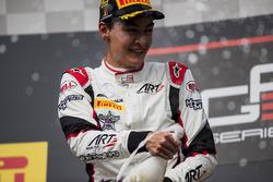 Racewinnaar George Russell, ART Grand Prix