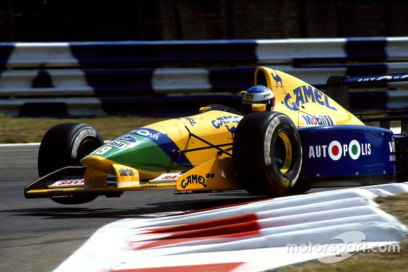 """Galvão Bueno: """"Olha, com o Schumacher e com o Brundle, eles vão gastar dinheiro"""""""