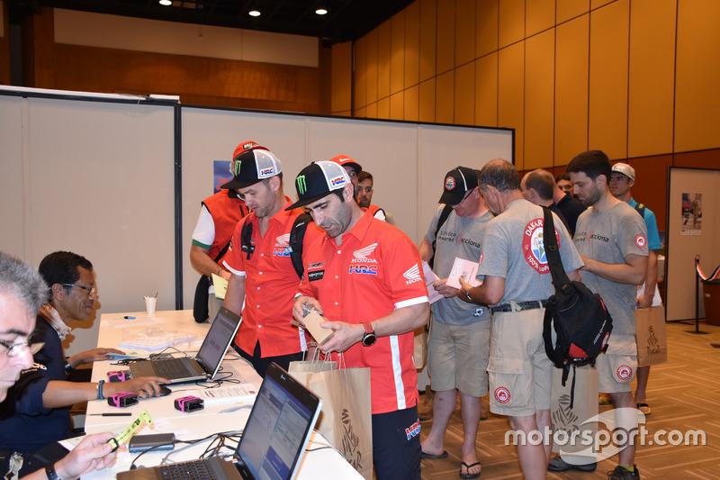 Michael Metge, Paulo Goncalves, Monster Energy Honda Team