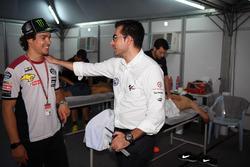 Franco Morbidelli, Marc VDS con Michele Zasa