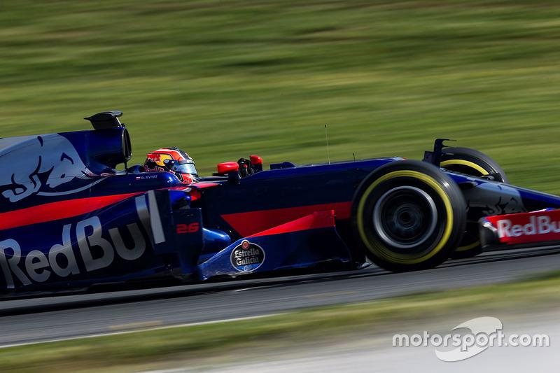#26 Daniil Kvyat, Scuderia Toro Rosso STR12