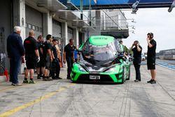 Einstellfahrten, KTM X-Bow GT4, Rowe Racing