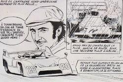 Die Comicstrip Cover von Jo Siffert