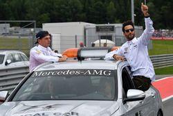 Max Verstappen, Red Bull Racing and Daniel Ricciardo, Red Bull Racing