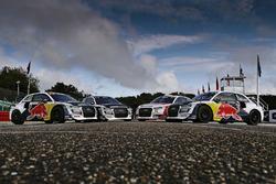 The cars of Toomas Heikkinen, EKS, Audi S1 EKS RX Quattro, Reinis Nitiss, EKS, Audi S1 EKS RX Quattr