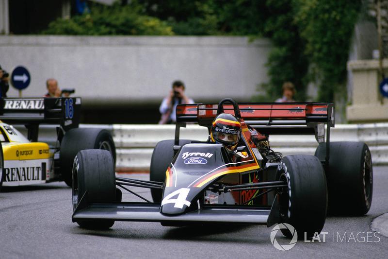 1984, Tyrrell: Martin Brundle en Stefan Bellof