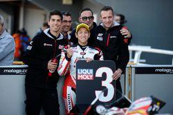 third place in qualifying, Hiroki Ono, Honda Team Asia, Honda