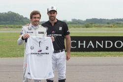 Fernando Alonso und Facundo Pieres