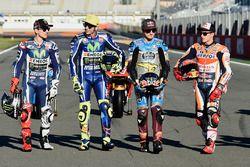 Jorge Lorenzo, Yamaha Factory Racing, Valentino Rossi, Yamaha Factory Racing, Jack Miller, Estrella