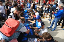 Julien Canal, Bruno Senna, Nicolas Prost, Mathias Beche, David Heinemeier Hansson, Nelson Piquet Jr., Vaillante Rebellion Racing
