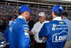 Jimmie Johnson, Hendrick Motorsports Chevrolet, Rick Hendrick