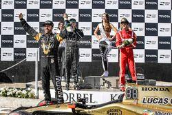 1. James Hinchcliffe, Schmidt Peterson Motorsports, Honda; 2. Sébastien Bourdais, Dale Coyne Racing,