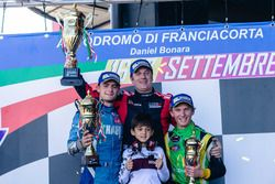 1. Denny Zardo, Alex Caffi Motorsports, 2. Thomas Ferrando, Knauf Racing, 3. Ulysse Delsaux, RDV Com