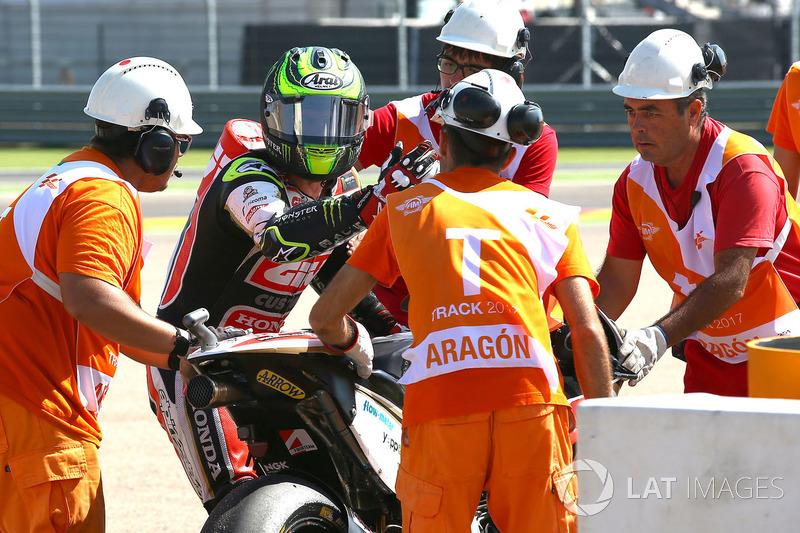 Cal Crutchlow, Team LCR Honda dengan marshal
