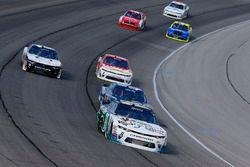 Blake Koch, Kaulig Racing Chevrolet and Brennan Poole, Chip Ganassi Racing Chevrolet