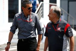 Günther Steiner, Team Principal, Haas F1 Team, Gene Haas, propriétaire, Haas F1 Team