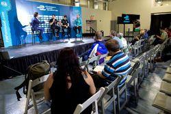 Dario Franchitti con Michael Andretti, Jay Penske e Gerry Hughes