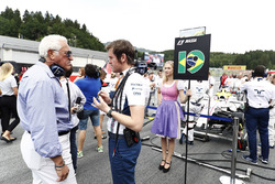 Lawrence Stroll, Rob Smedley, chef de la performance du véhicule, Williams