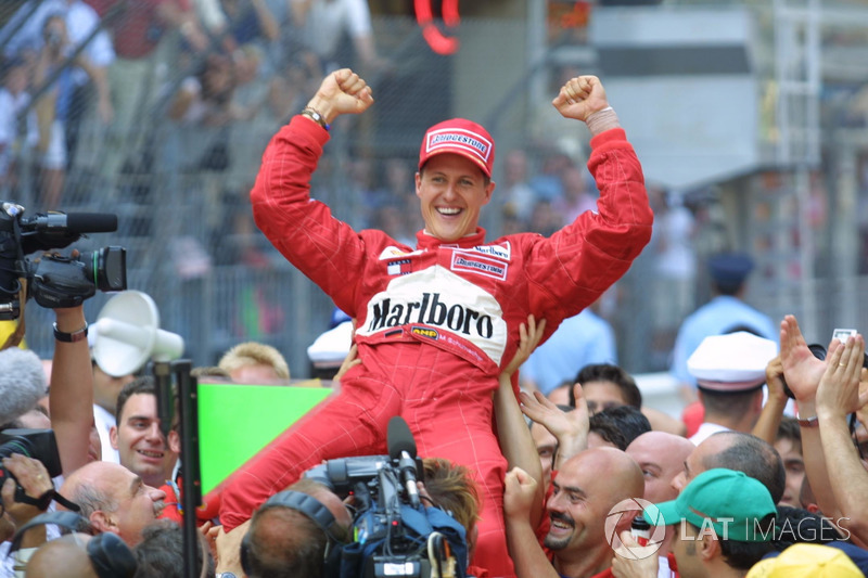 Michael Schumacher: 5 Grand Chelem
