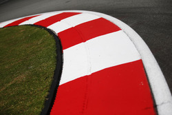 Sepang Circuit track and kerb detail