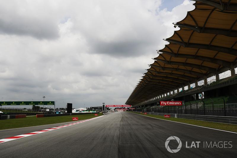 Sepang Circuit track detail