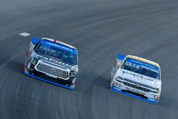 Ben Rhodes, ThorSport Racing Toyota and Kaz Grala, GMS Racing Chevrolet