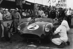 #2 Aston Martin DBR1: Carroll Shelby, Stirling Moss, Tony Brooks, Jack Fairman